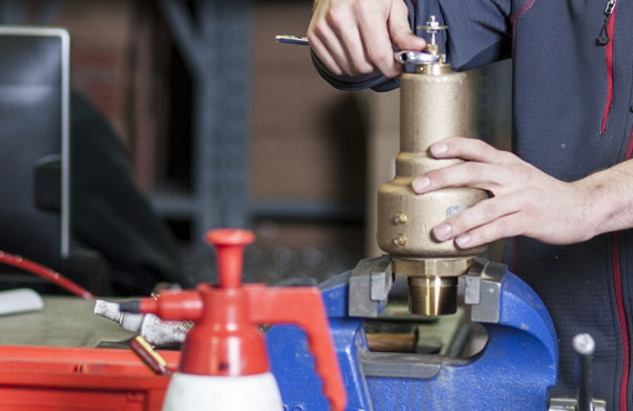 Repair Services – Safety Relief Valves